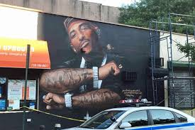 Big Ang Mural Unveiling by Prodigy Mural Goes Up In Queensbridge In Tribute To Late Mobb Deep