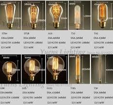 antique retro vintage edison bulbs light e27 incandescent bulb