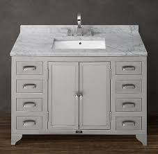 Restoration Hardware Bathroom Vanity Single Sink by 123 Best Remodeling A Small Bathroom Images On Pinterest Aqua