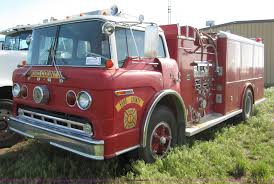 100 Ford Fire Truck 1973 900 Pumper Fire Truck Item B3232 SOLD June 5