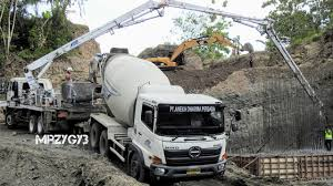 100 Concrete Pumper Truck Cool Ready Mix Pump Working On Steep Site YouTube
