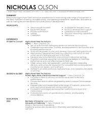 Sample Pharmacy Tech Resume Technician Example