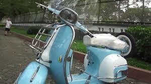 Classic Vespa VLB 150cc In Light Blue White