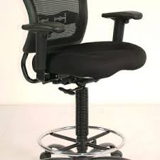 Lexmod Edge Office Drafting Chair by Counter Height Office Chairs Lumisource Caviar Height Adjustable