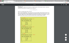 Solved: Under The Laws Of Gravity, An Object That Starts W ... Solved In This Question We Are Asked Matlab Code To Do Chegg Homework Help Coupon Code Printable Coupons Promo Codes Deals 2019 Groupon Subscription Cost Proofreading Papers Online Thousands Of Printable Mega Textbook Discount Unblur Coupon Homework Help Vhl Free Trial Ttg Coupons Student Or Agency For Boat Ed