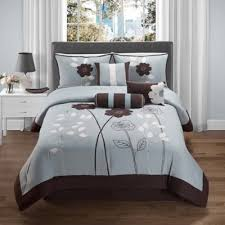brown and blue bedding sets blue and brown bedding sets ease
