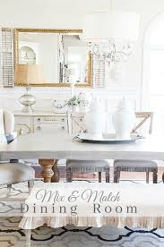 MIX AND MATCH DINING ROOM The Secret To A Uniquely Yours And Beautiful Dining Room