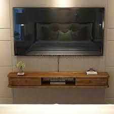 solide holz tv schrank einfache wohnzimmer set top box rack kleine wohnung hause log wand wand hängen