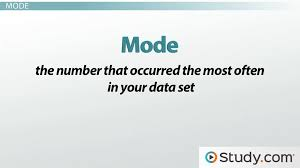 mode median and range how to calculate median mode range lesson