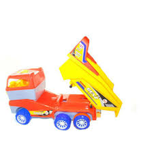 100 Sk Toy Trucks SK World Huge Size Push And Go Dumper Truck For Kids Dumper Truck With Friction Powered Wheels For Kids Colour May Vary Large Size