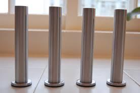 Karlstad Sofa Metal Legs by Metal Table Legs Ikea Dining Table