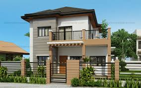 Two Story Modern House Ideas Photo Gallery by Two Storey Mhd 2016021 Eplans Modern House Designs