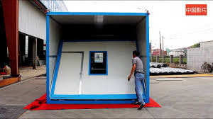 100 Container Houses China Folding House YouTube