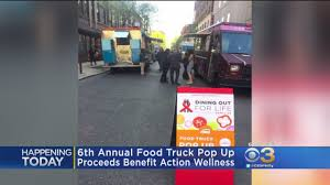 100 Action Truck 6th Annual Food Pop Up Benefits Wellness CBS Philly
