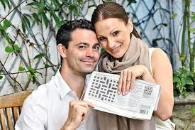 Man hides proposal in crossword puzzle