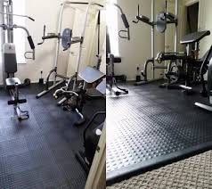 Exercise Floor by Home Gym Mats And Tiles Safe Over Carpeting