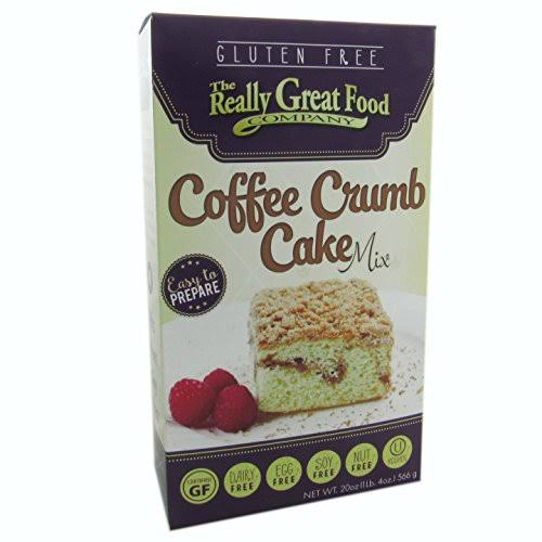 Really Great Food Gluten Free Coffee Crumb Cake Mix - 20oz, 3pk