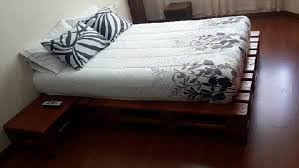 How To Make A Platform Bed From Wooden Pallets by Unique Pallet Wooden Platform Beds Ideas With Pallets