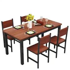 Dining Table Set L140XW80CM (1+4) Steel Ding Room Chairs Kallekoponnet Modern Narrow Table Set Cute With Photo Of 36 Round Natural Laminate With Xbase And 4 Ladder Back Metal Black Vinyl Seat 2 Ding Tables 8 Chairs In Metal Black Retro Design Square Walnut Grid Barstools Amazoncom Shing Wood Laneberg Svenbertil Brown Lucano Marble Leather Mesmerizing Iron Legs Reclaimed Base 5 Piece Kitchen Tag Archived Of Polyurethane Likable Pcs Table