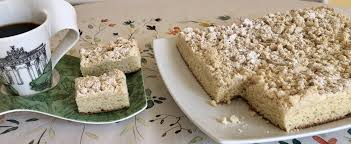 original german crumb cake recipe yeast dough topped with