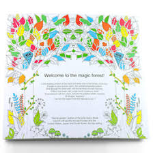 PrettyBaby Secret Garden Coloring Book Painting Drawing 24 Pages Animal Kingdom Enchanted Forest Relieve Stress For Children Adult