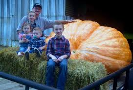 Pumpkin Patches In Milton Wv by Grandchildren Inspire Farmer To Grow Giant Pumpkins Food