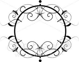 300x237 Clipart Chandelier Accent Wedding Borders