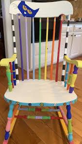 Pete The Cat Painted Rocking Chair #teacherchair #petethecat ...