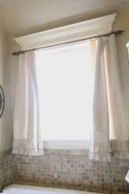 Small Bathroom Window Curtains by Bathroom Small Bathroom Window Curtains 12