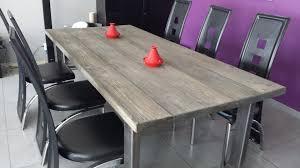 table de cuisine en bois massif table salle a manger bois massif table cuisine pliante pas cher
