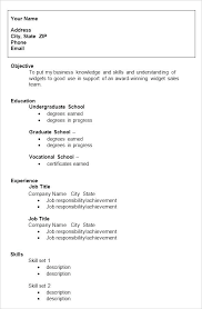 Resume Samples Format College Templates Free Examples Formats Sample Doc File Download