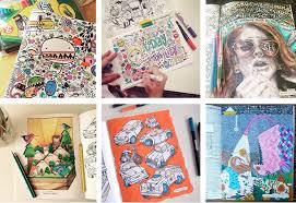This Coloring Book Represents The Illustration Styles Of 90 Contemporary Artists From Around World Bound Together For Your Pleasure