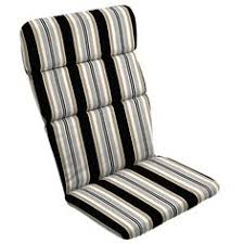 Lowes Canada Adirondack Chairs by Shop Garden Treasures Black Grey Striped Bench Cushion At Lowe U0027s