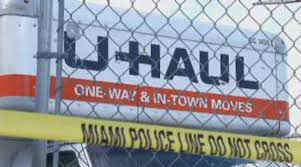 Thieves Use Moving Truck For Early Morning Burglary At Miami ... Driving Moveins With Truck Rentals Rental Moving Help In Miami Fl 2 Movers Hours 120 U Haul Stock Photos Images Alamy Uhaul About Uhaulnamhouastop2012usdesnationcity Neighborhood Dealer 494 N Main St 947 W Grand Av West Storage At Statesville Road 4124 Rd 2016 Desnation City No 1 Houston My Storymy New York To Was 2016s Most Popular Longdistance Move Readytogo Box Rent Plastic Boxes