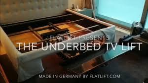 geniale lösung tv unterm bett fernseher unterm bett