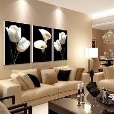 3 teiliges wandbild mit blumen auf leinwand lilie und calla lilie kunstwerk für wohnzimmer sofa schlafzimmer heimbüro wanddekoration 30 x 50 cm