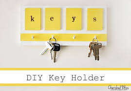 Decorative Key Holder For Wall by 20 Diy Key Holder Ideas