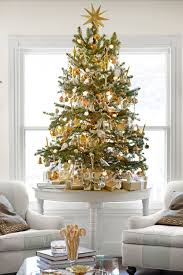 White Artificial Christmas Trees Walmart by 60 Best Christmas Tree Decorating Ideas How To Decorate A