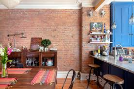 100 Brick Walls In Homes Maximalist Colorful Eclectic Montreal Flat Tour Apartment