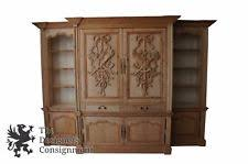 Broyhill Fontana Armoire Entertainment Hutch by Pine Entertainment Tv Armoires Stands Ebay