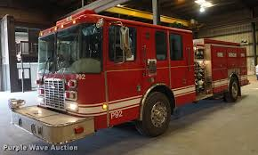 100 Hme Fire Trucks 2001 HME Pumper Fire Truck Item DD7837 SOLD August 21 G