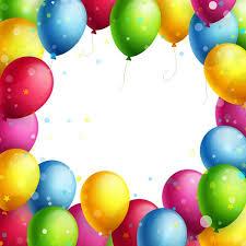 Arch clipart balloon frame 1