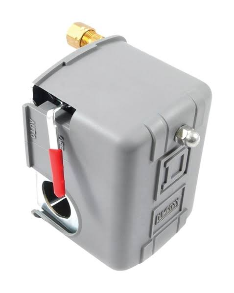 Forney 75570 Auto Off Lever Air Line Pressure Switch - 80psi to 100psi Capacity