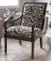 Turned Leg Solid Wood Zebra Print Modern Accent Arm Chair ... Kincaid Fniture Accent Chairs Exposed Wood Chair Charm Contemporary For Living Room Nicole West Palm Beigewhite Set Of 2 Fabric Ding Tufted Modern Jenny And Ottoman With Bowery Painted For Celine Diy Frame Pretty Burgundywood Cream Park Foam Upholstered Wooden Cozy Coastal Caitlin Marie Design Belleze Roll Arm Linen Bedroom Leg Citrine Yellow