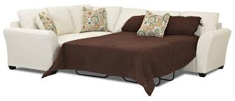 Sofas Center Rv Sofa With by Transitional Sectional Sleeper Sofa With Dreamquest Mattress By