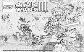 Starwars Coloring Page Printable Pages