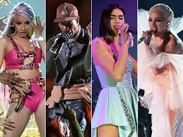 100 Andrew Morrison Artist Grammys 2019 Performances Cardi B To Dua Lipa And Travis