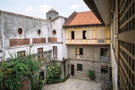 100 Court Yard Houses Top View Of The Courtyard Of An Old Spanish Colonial Period