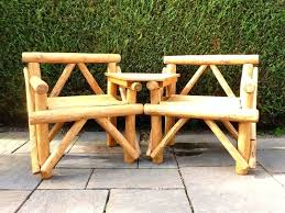 Rustic Outdoor Furniture Creative Of Table And Chairs In Perfect Harmony