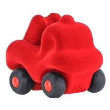 Rubbabu: Mini Red Fire Truck On Wheels - Organic Start